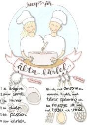 Recept på äkta kärlek, med glimten i ögat