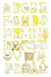 Det gula alfabetet