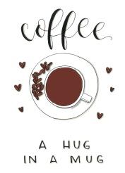 Print för kaffeälskaren